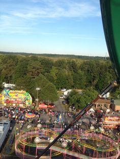 Ferris ride at the North Georgia State Fair. Where else...Marietta, GA!