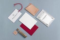 Ada Blackjack Identity and Collateral Beautiful work for bag and leather goods brand Ada Blackjack byVerena MichelitschandTobias van Schneider.