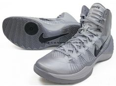 newest 9561f 3a4a1 Authentic Hyperdunk 2013 Wolf Grey Black