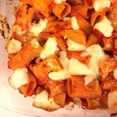 Baked Ziti with Tomatoes and Mozzarella: America's Test Kitchen Family Cookbook, pg. 237