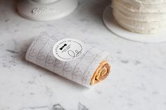 Logo and packaging for Lulu Cake Boutique designed by Peck and Co. #Packaging #Branding #Design