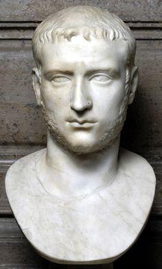 Ritratto di Gallieno Scultura 253-260 d.C. Marmo cm 58 Collocazione: Palazzo Nuovo, Sala degli Imperatori Inventario: inv. MC0360