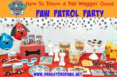 How To Throw A Tail Waggin' Good Paw Patrol Party