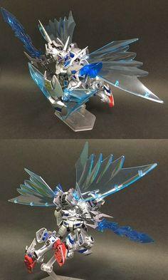 "Custom Build: HG 1/144 Gundam G-Self ""Silver Knight War Demon"" - Gundam Kits Collection News and Reviews"