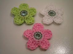 bloemetjes met magneetjes - tutorial van roos