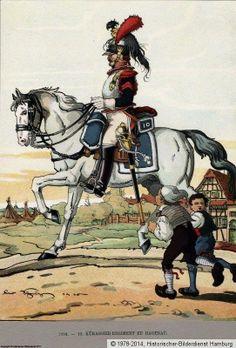 French Cuirassier, 1804.