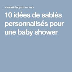 10 idées de sablés personnalisés pour une baby shower