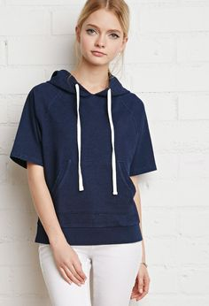 Boxy Raglan Hoodie | Forever 21 Canada