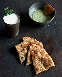 Leek-and-Scallion Fry Breads | Food & Wine