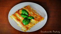 Cannelloni al ragu - włoskie cannelloni nadziewane mięsnym sosem pomidorowym