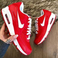 Nike Shoes - NWT❤️Nike ID Air max red Custom