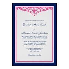 navy pink wedding