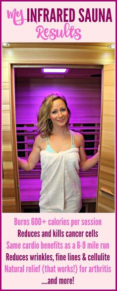 Infrared Sauna Health Benefits - great article