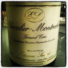 Sauzet Chevalier-Montrachet 2000. Great wine.
