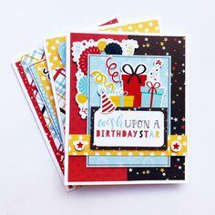 "Birthday Cards by Dorymar Perez for #EchoParkPaper featuring the ""Magical Birthday Boy"" Collection Birthday Blast, Boy Birthday, Kids Birthday Cards, Handmade Birthday Cards, Boy Sketch, Echo Park Paper, Boy Cards, Fun Projects, I Card"