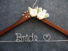 Bridal Hanger  Wedding Dress Hanger  by LynnClaire, $37.00