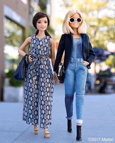 Overall, I have to say, I love our looks! #barbie #barbiestyle