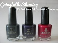 GoingtotheShowing: 200+ Followers Fall For Jessica Giveaway ends 8-10*
