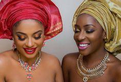 Gele Fashion - Lola Rae & Dorcas Shola Fapson