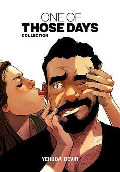 ArtStation - One Of Those Days, Yehuda Devir Cute Couple Comics, Couples Comics, Funny Couples, Anime Couples, Couples Humor, Yehuda Devir, Relationship Comics, Relationship Tips, Relationships