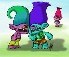 Hahahahahhaha they are fighting !!!
