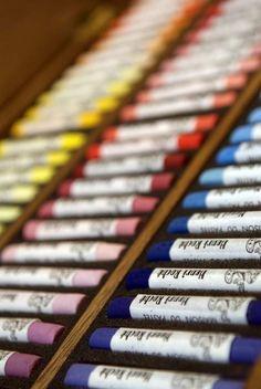 Collection de pastels
