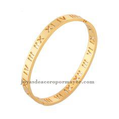 pulsera oro dorada de n��meros ar��bigos para mujeres