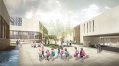 Innovative Bioclimatic European School Third Prize Winning Proposal - Atelier3AM