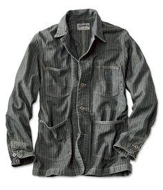 Stripe Chore Jacket