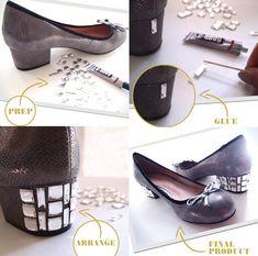 переделка обуви процесс 2
