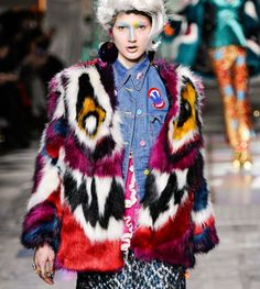 Meadham Kirchoff, Peri Monster Fur Coat