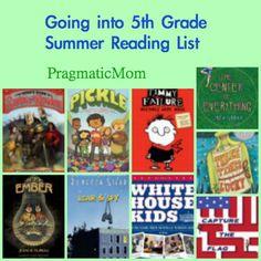 Going into 5th Grade Summer Reading List :: PragmaticMom