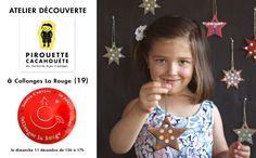 Venez nombreux au dernier atelier de l'année !! Rdv à la boutique La petite cabane à Collonges-La-Rouge (19) ce dimanche 11 décembre de 15h à 17h. Participation libre au chapeau :)