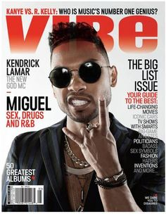 Miguel on the cover VIBE #inspiration #music #love #fashion #vibe #vibemagazine #miguel