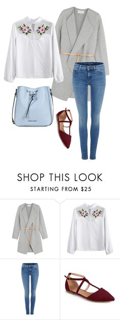 """Untitled #174"" by marianaabdo ❤ liked on Polyvore featuring Vanessa Bruno, Calvin Klein, Journee Collection and Armani Jeans"