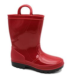 These amazing rainboots will keep your childs feet dry on those miserable rainy days! Kids Rain Boots, Rain And Snow Boots, Rubber Rain Boots, Rainy Days, Big Kids, Red, Accessories, Shoes, Shoe