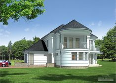 Projekt domu LK&827 Concrete Staircase, Apartment Floor Plans, Pool Houses, Home Fashion, Home Projects, Gazebo, Shed, Outdoor Structures, Flooring