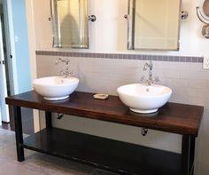 Forever Interiors -  Reclaimed Wood Custom Vanity