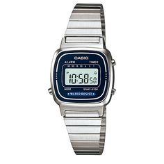 Casio Collection LA670WEA-2EF digitaal retro horloge | gratis verzending | http://www.kish.nl/Casio-Collection-LA670WEA-2EF-retro-horloge/ | Casio retro horloges vindt je voordelig bij Kish.nl