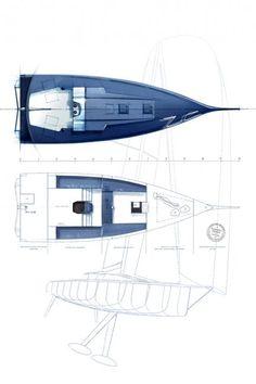 Voiles et Voiliers  Skod 35 (Swing Keel One Design)