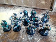 Cultist squad (FW+WHFB Marauder bitz)