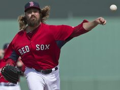 What's the deal with Andrew Miller's hair?