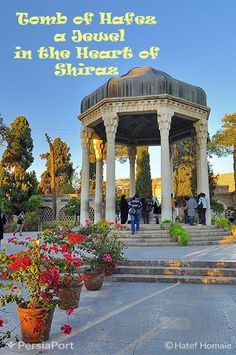 The author of numerous ghazals expressing love and spirituality, Hafez is a great Persian poet. His tomb, located in Shiraz, was built in 1935 and designed by French architect and archaeologist André Godard. #RediscoverIran #PersiaPort #Iran #Travel #Heritage #Hafez