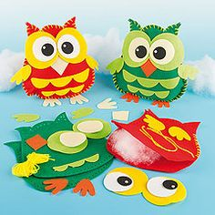 Hootie owls!!!    ---------- Owl sewing project