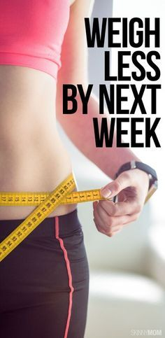 What's the key to losing weight fast? Find out and shed the pounds by next week!