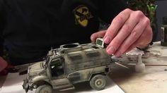 Warfare in Scale chapter#17 - MaxxPro MRAP 4x4 1/35 KINETIC