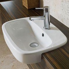 Fowler Regent Semi Recessed Basin