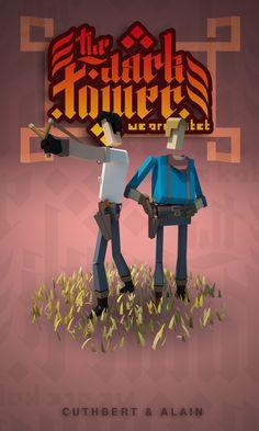 Rodrigo Oliveira - The Dark Tower Characters Cuthbert and Alain