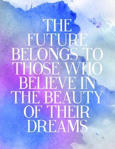 Beauty in your dreams.