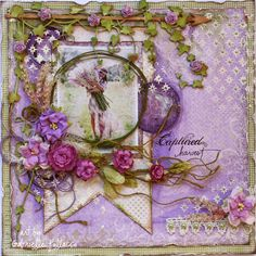 Captured Harvest romantic scrapbook layout - Such a Pretty Mess blog - The Scrapbook Diaries {Dusty Attic & Maja Design!!}
